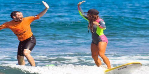 TENERIFE SOLO CURSO DE SURF